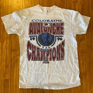 Vintage Colorado Avalanche Shirt